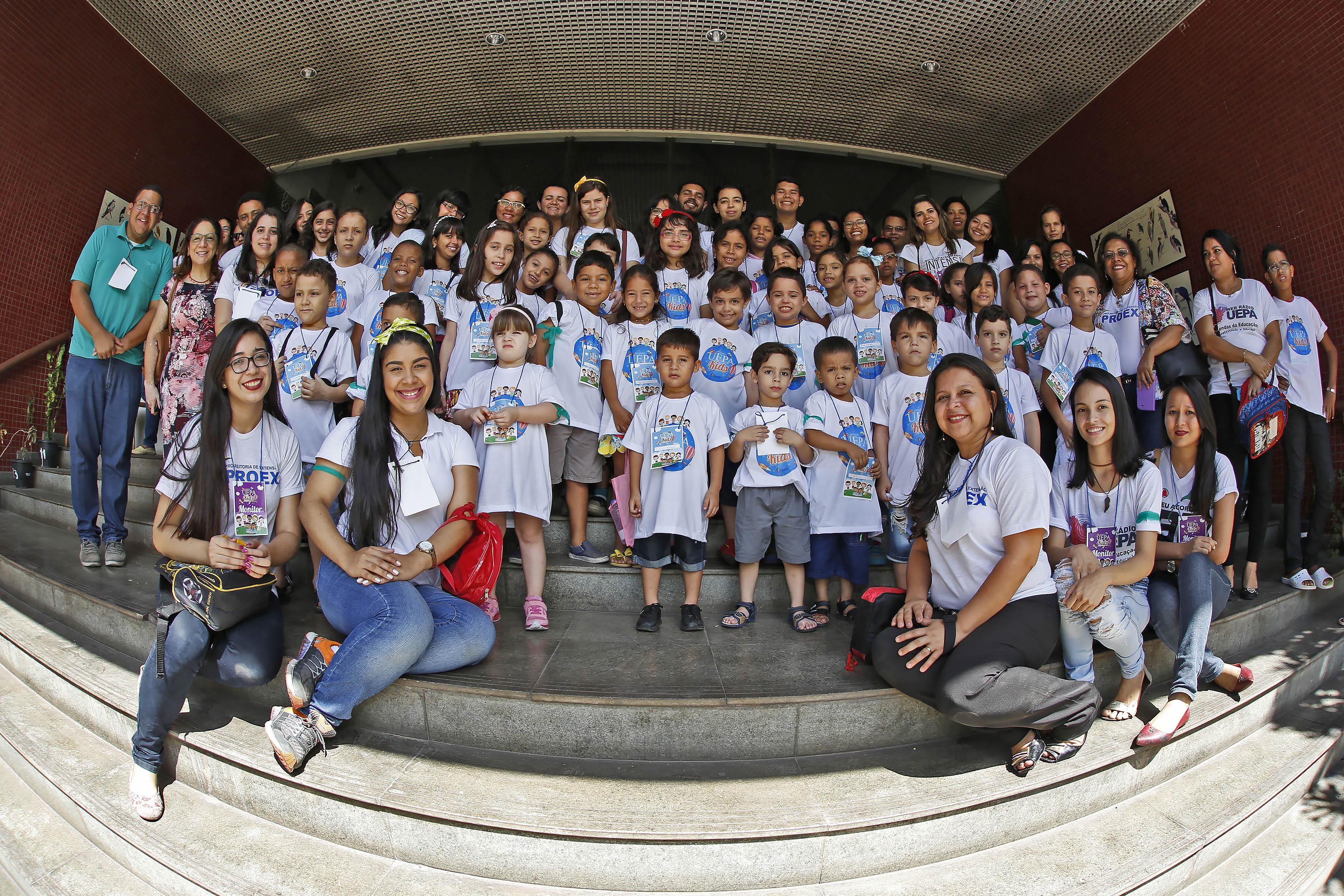Uepa Kids foi sucesso com a criançada em julho